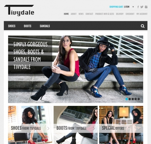 Website: Tivydale Boots, Sandals and Shoes