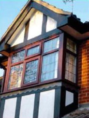 UPVC Tudor Cladding