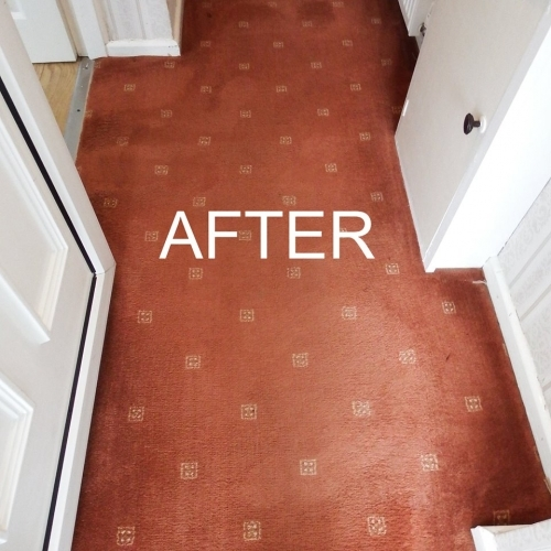 After cleaning. The customer was delighted :)