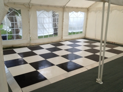 Black and White Dance Floor Peterborough