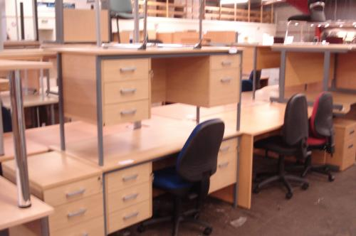 Second hand office desks Glasgow