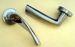 Contemporary lever handles