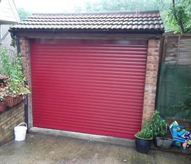 Seceuroglide Insulated Roller Door Installed In Farnham