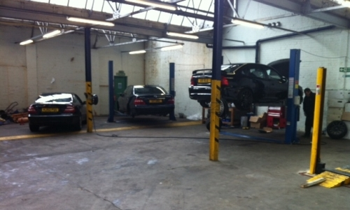 Mechanical servicing and repairs on site