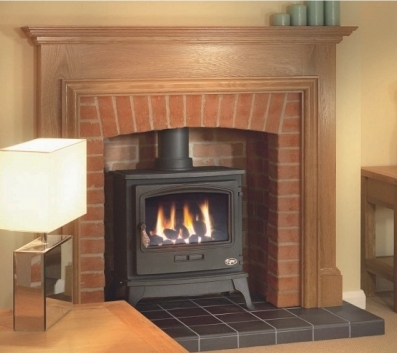 Stove and Four Piece Brick Arched Chamber from  www.firesandfireplaces.org.uk