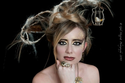 'Fantasy Steampunk Hairstyle' Photoshoot Theme