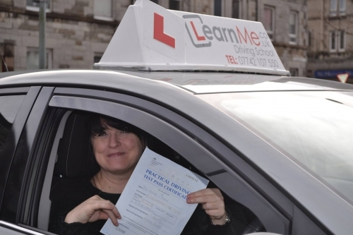 Johnstone Driving School Pass