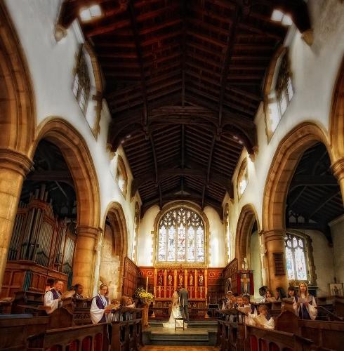 Church Wedding Photography in North Chingford, London