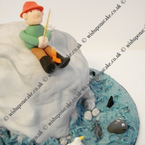 Sea Fishing Cake