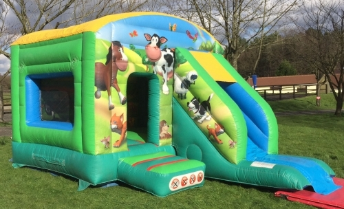 Slide Bouncer Farmyard