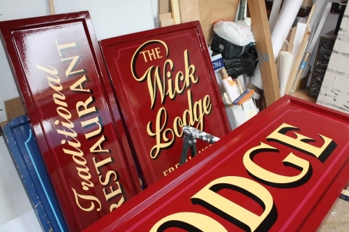 Traditional Hand Painted Pub Signs