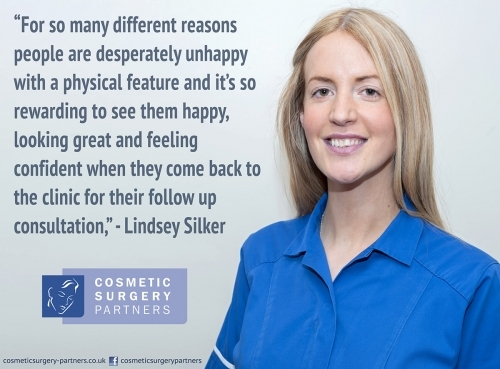 Our head nurse Lindsey Silker on the topic of cosmetic surgery