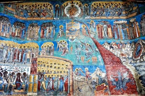 Romania - Voronet monastery