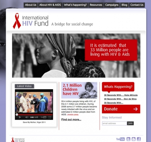 Hiv Charity Wordpress Development