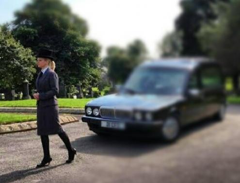 Lady Funeral Director