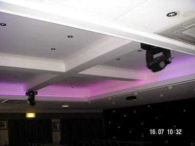 Hotel lighting installation
