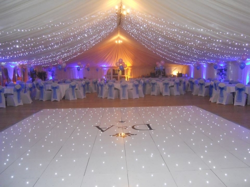 LED dance floor (white)