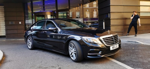 Heathrow to Gatwick with Mercedes S-Class