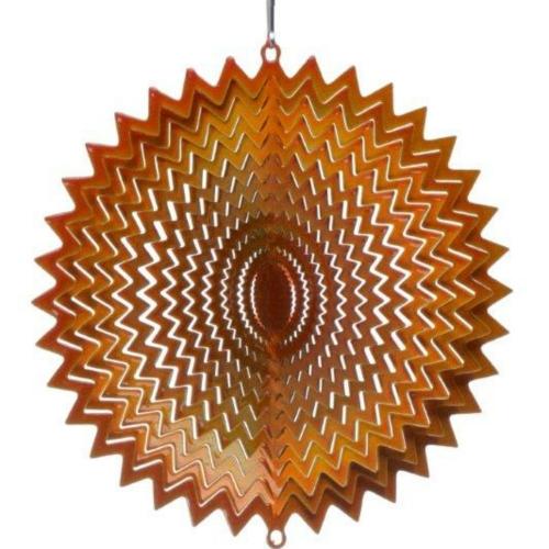 Copper Splash Wind Spinner