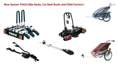 We stock Thule chariots, roof rack and tow bar racks