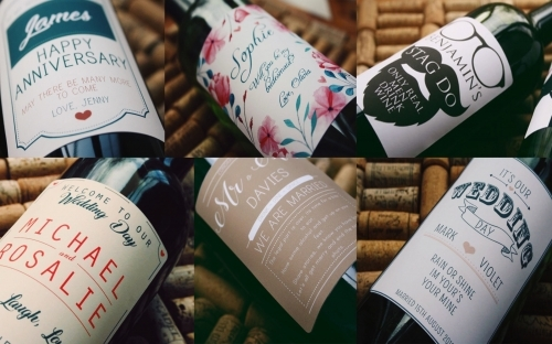 Personalised Wine Gifts, and Wine for Events