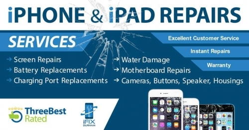 iphone & ipad repairs