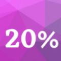 20% off **