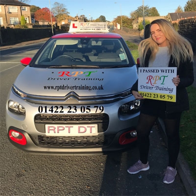 RPT Driver Training -  Driving Lessons Halifax -  Kate Greenwood