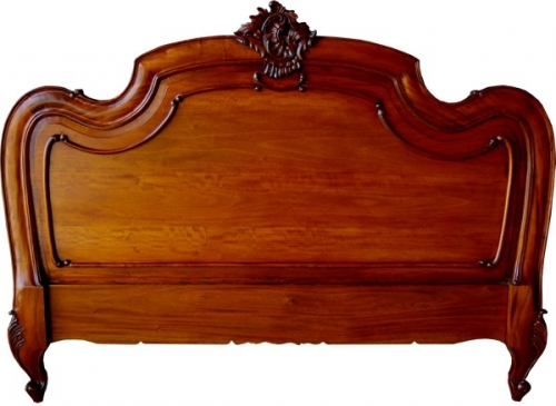 Carved Louis XV Headboard
