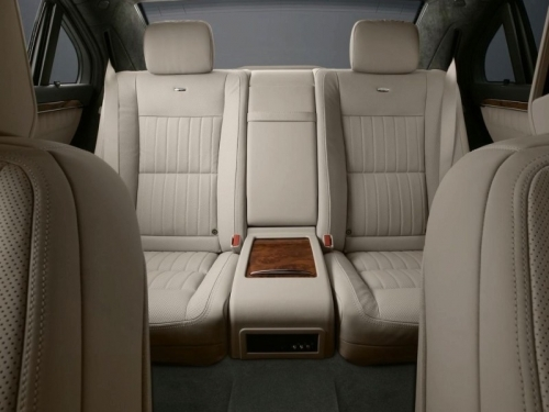Mercedes Benz S Class Rear Seats