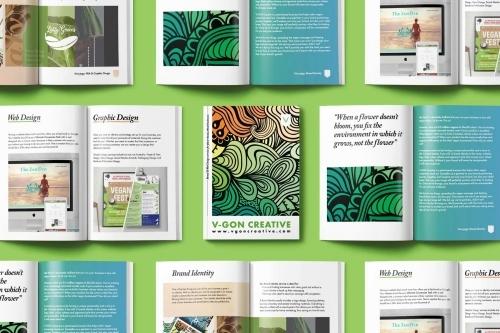 V-GON Creative Brochure Design