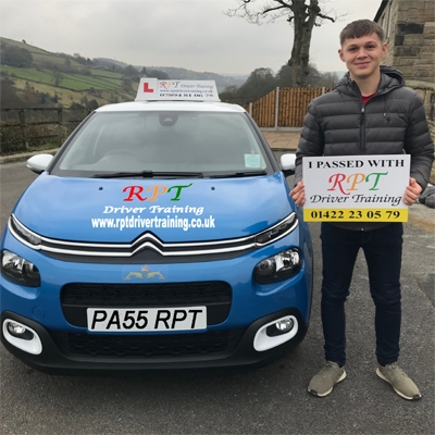 RPT Driver Training Driving Lessons Halifax Ben Hellowell
