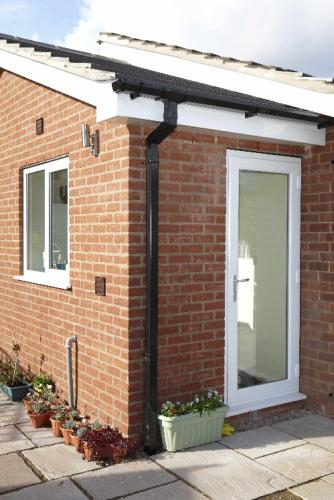 Full Glass PVCu Door