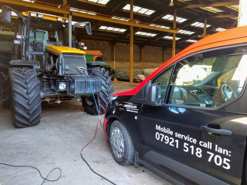 Tractor and Agricultural vehicle air conditioning service