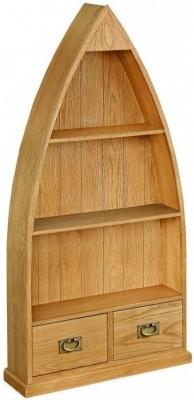 Oak Bookcase Boat