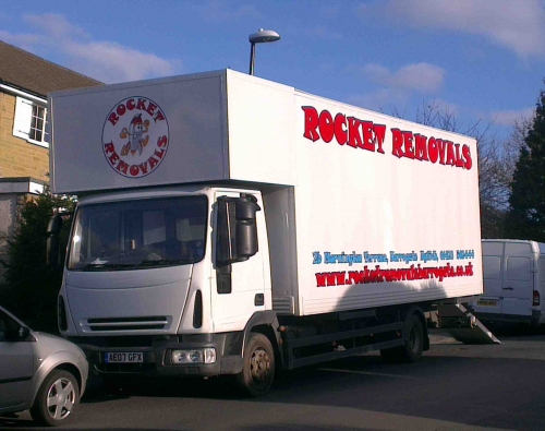 Removals Vehicle for large moves