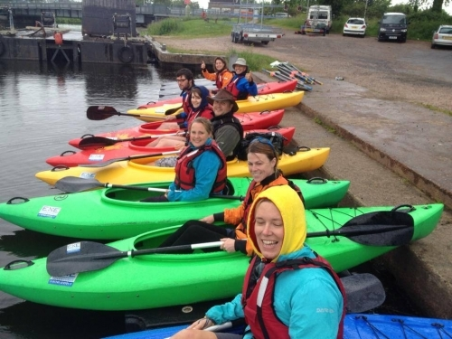 Wet Day Out On The Water
