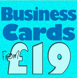 Business Cards from £19