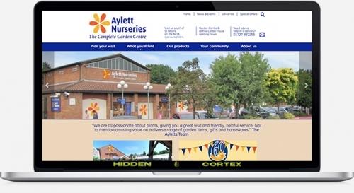 Aylett Nurseries website design