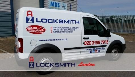 AZ Locksmith Van