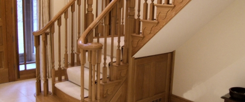 another stairs design and fitted