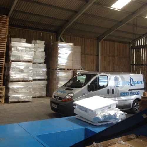 Another load of packaging recycled!