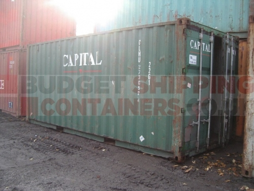 20ft Used Shipping Containers for Sale
