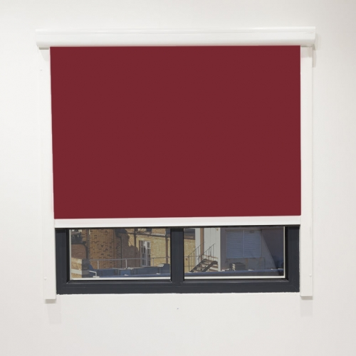 Commercial Cassette Blinds With Side Tracks