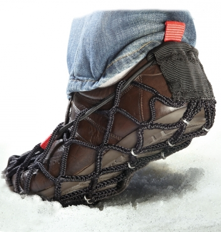 Ezyshoes from ICEGRIPPER - anti slip overshoes for walking on snow and ice