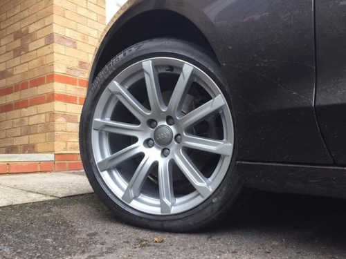 Audi Alloy Wheelrefurbishment