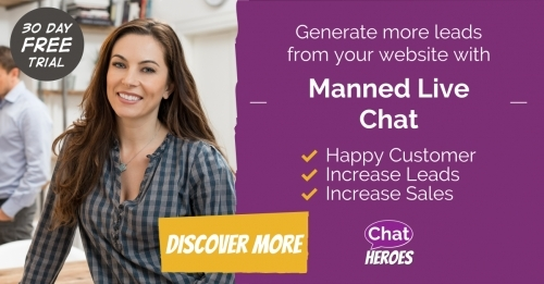 Outsourced Live Chat for every business - visit chatheroes.com to discover more!
