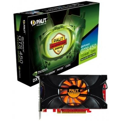 Geforce Gts 450 Graphics Card Ddr3 Palit