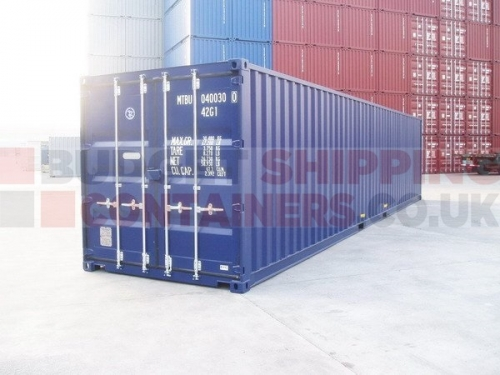 40ft New (one trip) Shipping Containers for Sale