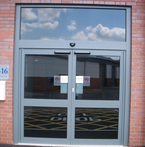 Aluminium Entrance 2
